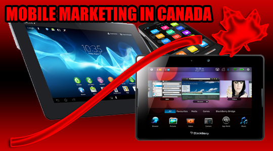 Mobile Advertising Jumps by Over 75% in Canada {Statistics} ©