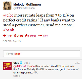 Learn from CIBC's Bad Example of Online Customer Support