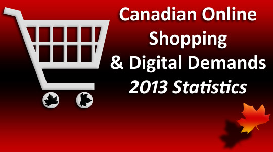 Canadian Online Shopping Statistics 2013