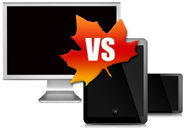 Mobile Commerce vs. eCommerce in Canada