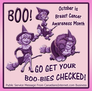 Breast Cancer Awareness Month Canada