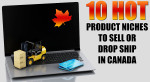 10 Hot Product Niches to Sell or Drop Ship Online in Canada
