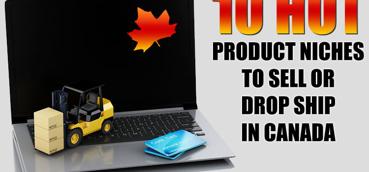 10 Hot Product Niches to Sell or Drop Ship Online in Canada ©