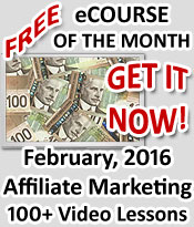Affiliate Marketing Free Video Course