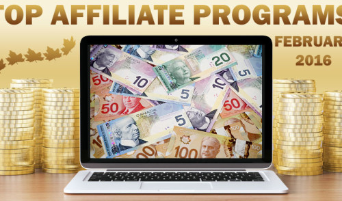 Top 10 Earning Affiliate Programs for February, 2016