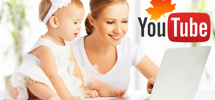 A Staggering 90% of Canadian Online Moms Love YouTube