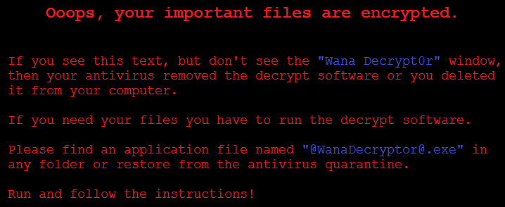 Prevent Ransomware Infection - Small Businesses
