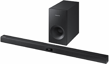 Samsung HW-J355 TV Soundbar and Woofer for the Boardroom