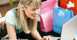Canadians Are Crazy About Online Shopping (Infographic)