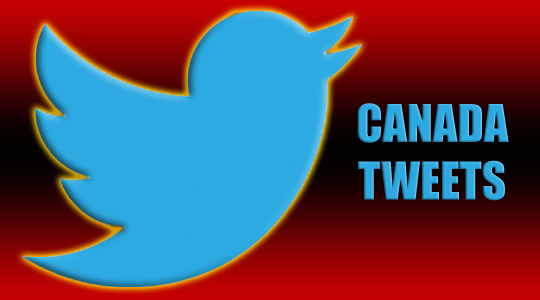 Canadians Among Top 10 in Twitter Accounts