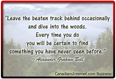 Canadian Business Quote Digi-Poster