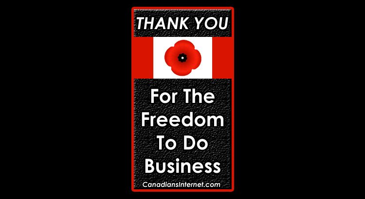 Thank You for the Freedom to do Business and Blog