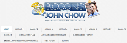 Blogging with (Canadian) John Chow - An Objective Review