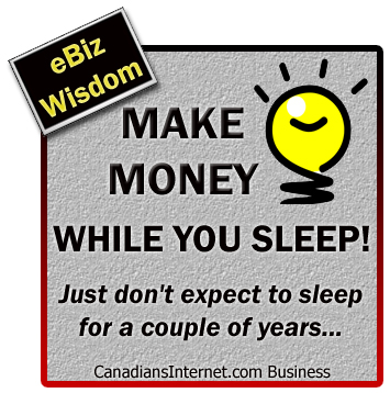 Make money online in Canada
