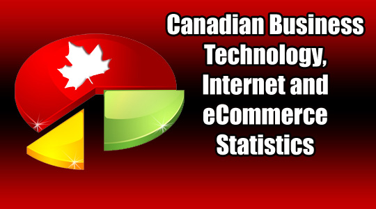 Canadian Business Technology, Internet and eCommerce Statistics ©