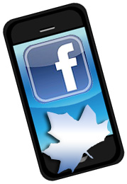 Mobile Facebook Use Increases in Canada - Work it to Your Advantage