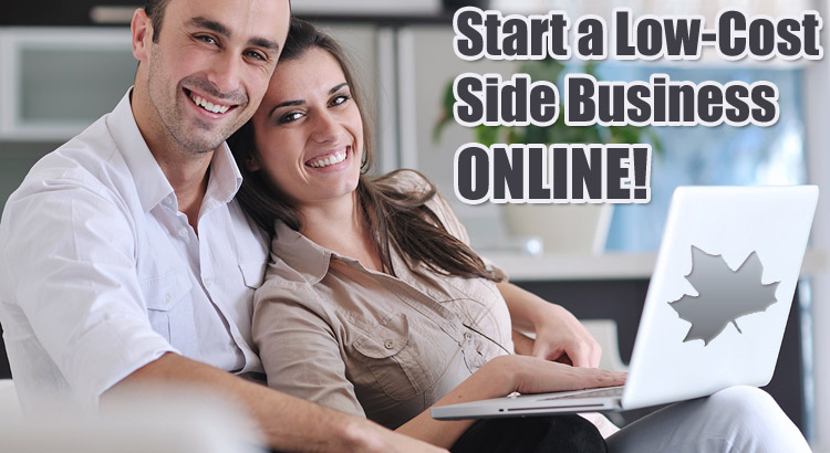 10 low cost side businesses you can start online from home