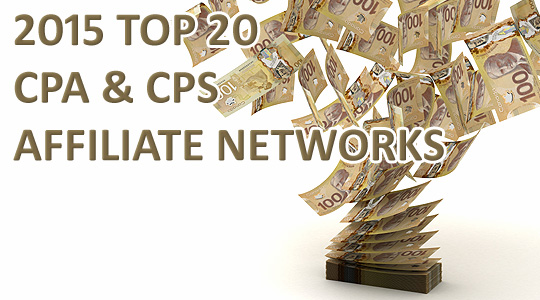 2015 Top CPS and CPA Affiliate Networks