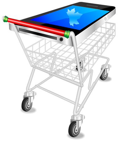 Canadian Mobile eCommerce to Grow in 2015