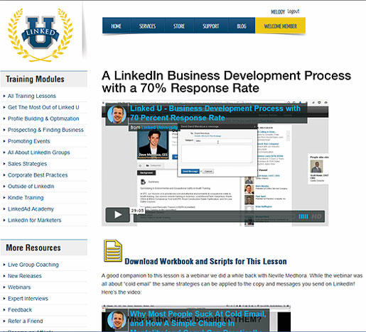 Review - LinkedU Advanced LinkedIn Marketing Training