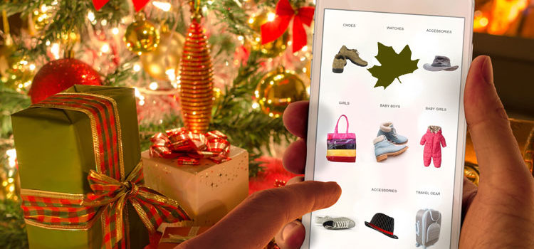 Shop Canada Online (Free Holiday-Theme Graphic)