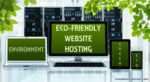 Environmentally friendly website hosting