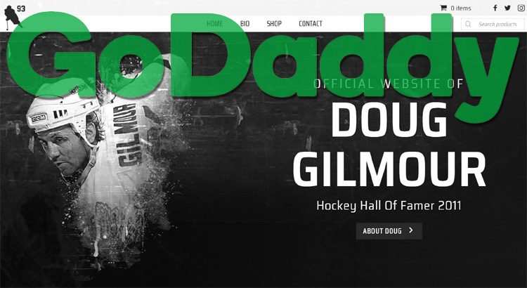 GoDaddy and Hockey Legend Doug Gilmour Inspire Canadian eCommerce