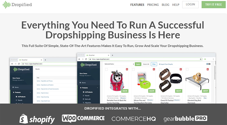 Dropified Dropshipping Software