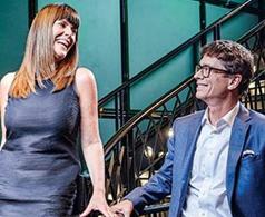 Jean Pierre & Kate Ross