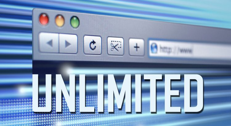 Use 'Unlimited' Web Hosting for Carefree Storage, Traffic and Websites